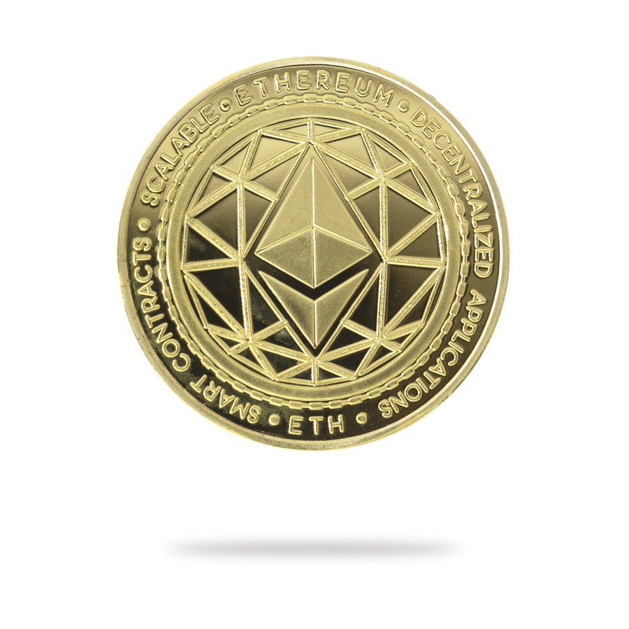 Cryptochips | Ethereum (ETH) Physical Crypto Coin | Collectable Crypto You Can HODL