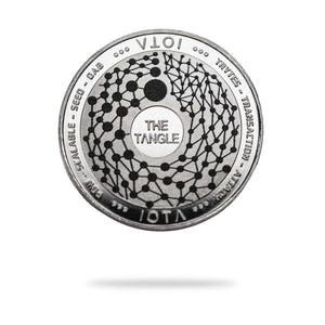 Cryptochips | IOTA Physical Crypto Coin | Collectable Crypto You Can HODL