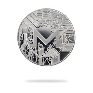 Cryptochips | Monero (XMR) Physical Crypto Coin | Collectable Crypto You Can HODL