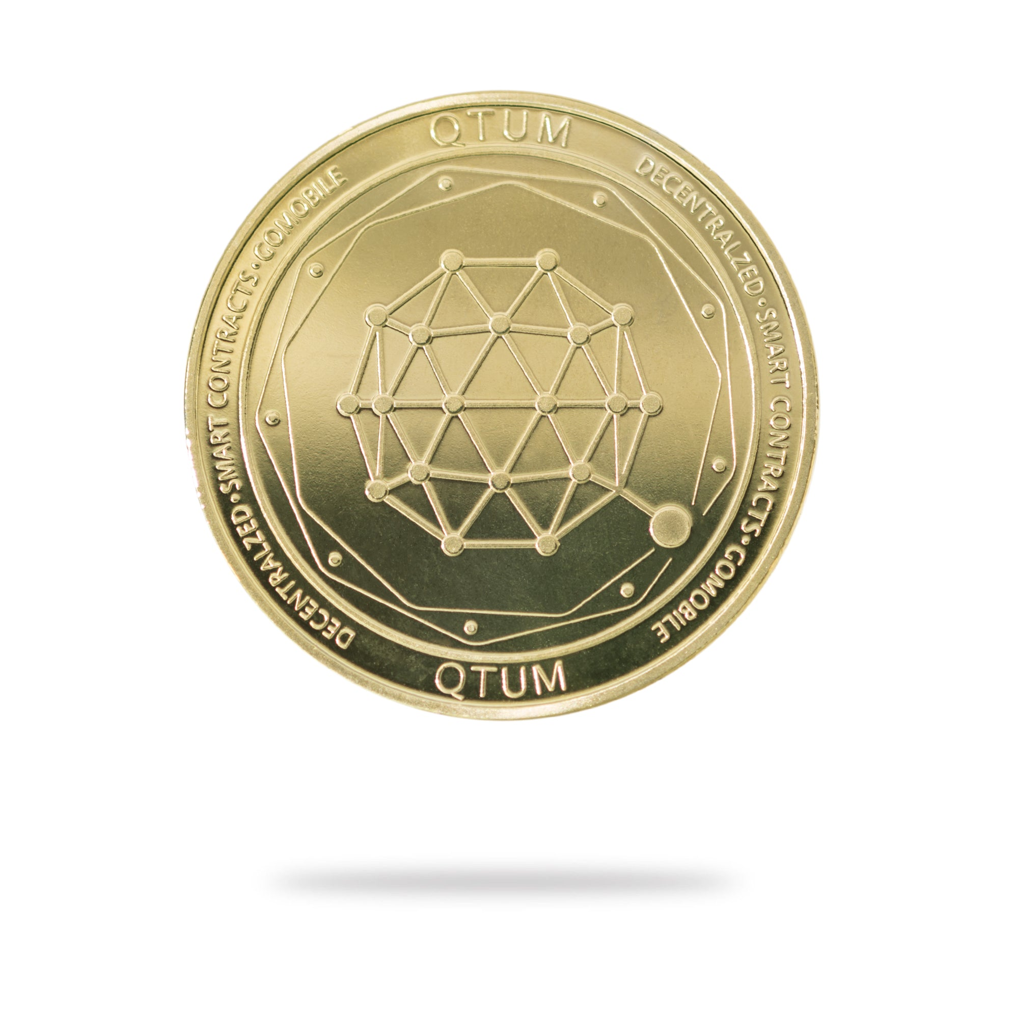 Cryptochips | QTUM Physical Crypto Coin | Collectable Crypto You Can HODL