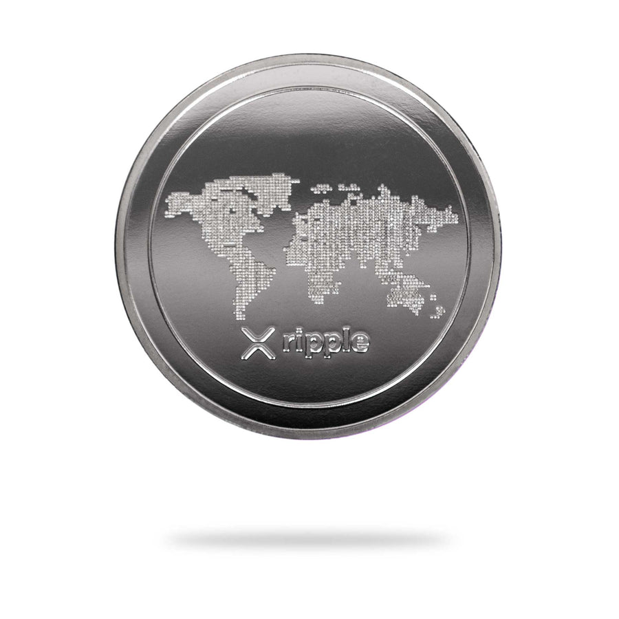 Cryptochips | Ripple (XRP) Physical Crypto Coin | Collectable Crypto You Can HODL