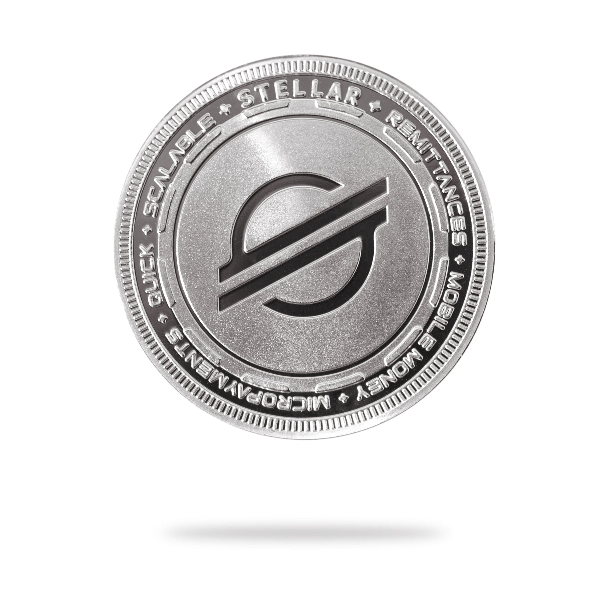 Cryptochips | Stellar (XLM) Physical Crypto Coin | Collectable Crypto You Can HODL