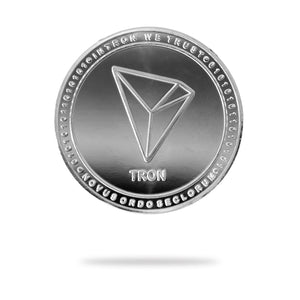 Cryptochips | Tron (TRX) Physical Crypto Coin | Collectable Crypto You Can HODL