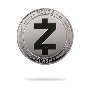 Cryptochips | ZCash (ZEC) Physical Crypto Coin | Collectable Crypto You Can HODL