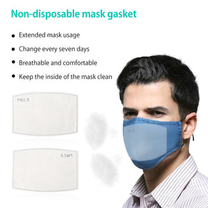 10/20/50PCS PM2.5 Mask Pads N95 5 Layer Activated Carbon Filter Mouth Face Masks Anti Dust Health Care Mask Pad 12x8cm
