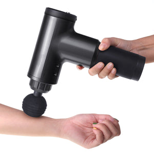6 Gears Muscle Massager 4000r/min Therapy Massage Gun With 4 Head options