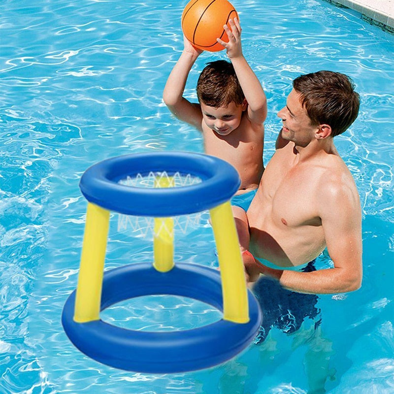 Family Inflatable Basketball Hoop Toy