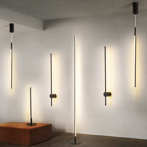 Nordic Minimalist LED Floor Lamps Living Room Led Aluminum Vertical table lamp creative wall lamps hanging lamps Decor Luminaria