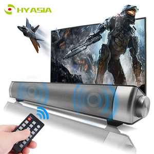 Bluetooth Soundbar Stereo Loudspeaker Wireless Speaker TV Sound bar PC Home Theater Sound System Acoustic Support TF AUX
