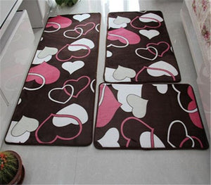 Set Water Absorption Bathroom Carpet Rug Bathroom Mat Home Living Room Kitchen Door Floor Mat for Toilet Non-slip48