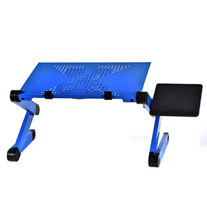 Fashion Portable Folding Laptop Table Iron  Sofa Bed Office Laptop Stand Desk Computer Notebook Bed Table