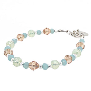 Isn't She Lovely Crystal Bead Bracelet - B.B.Balencia