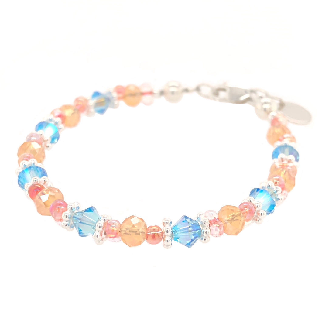 Summer Nights Crystal Bead Bracelet - B.B.Balencia
