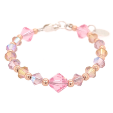 Load image into Gallery viewer, Aurora Crystal Bead Bracelet - B.B.Balencia