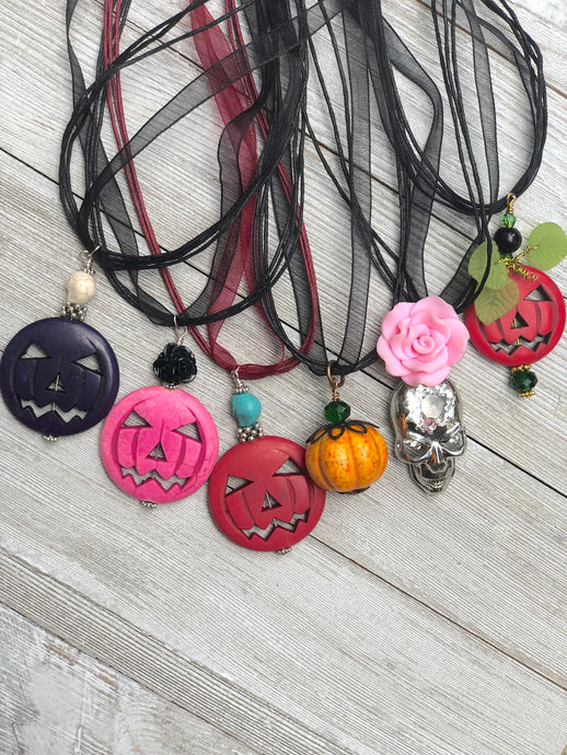 Limited Edition Halloween Necklace - B.B.Balencia