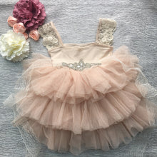 Load image into Gallery viewer, Maisie Lace Princess Tutu Dress - B.B.Balencia