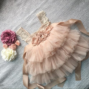 Maisie Lace Princess Tutu Dress - B.B.Balencia