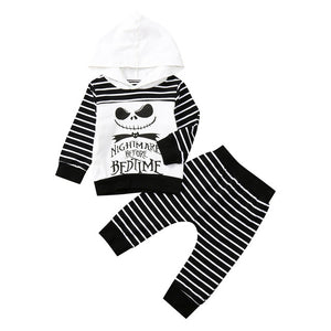 Nightmare Before Bedtime Hooded Top and Pants Set - B.B.Balencia