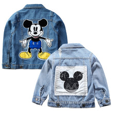 Load image into Gallery viewer, Mickey Denim Jacket - B.B.Balencia