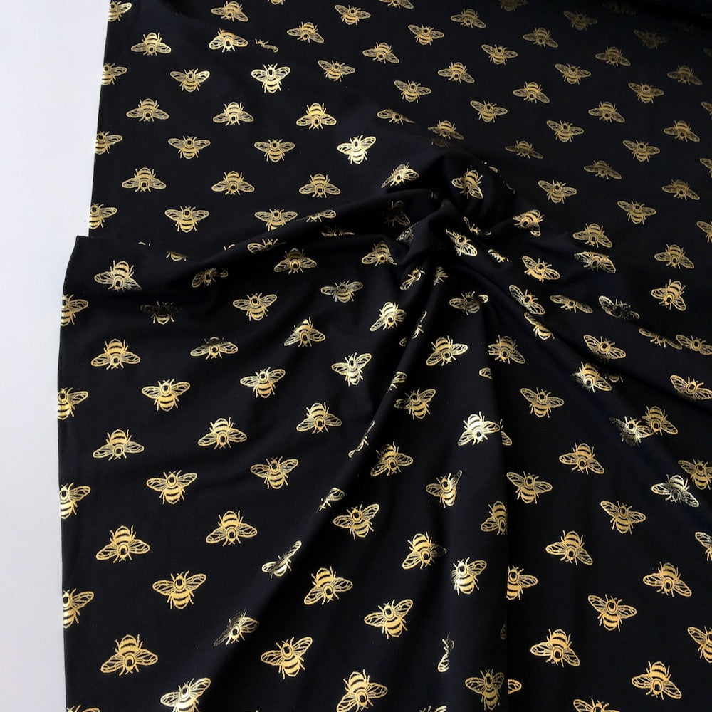 Golden Bees Fabric