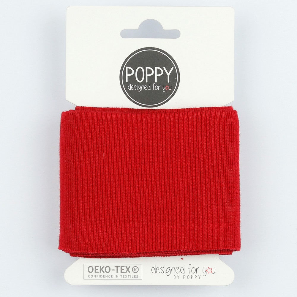 Cuffs by Poppy - Plain Red