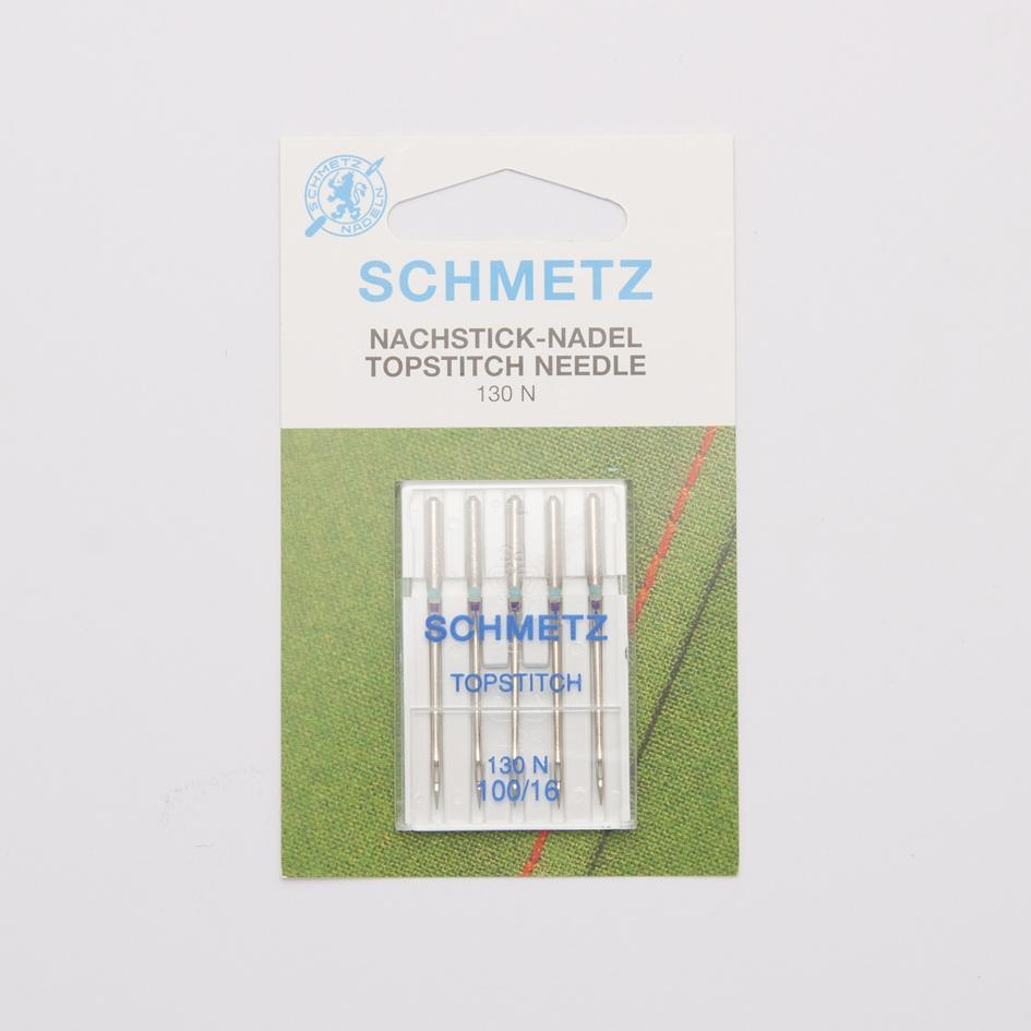 Schmetz Topstitch Needles 5-Pack - Size 100 - Frumble Fabrics