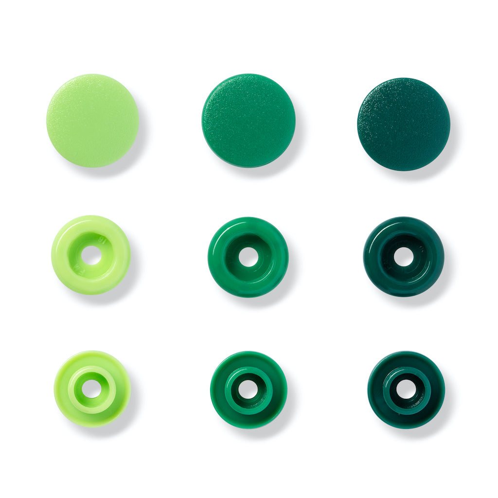 Prym Love Colour Snap Fastener 12.4mm - Green - Frumble Fabrics