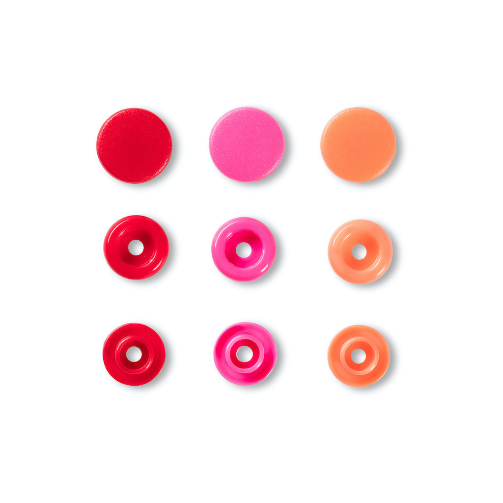 Prym Love Colour Snap Fastener 12.4mm - Red