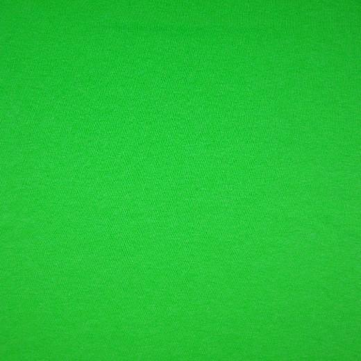 1x1 Smooth Neon Ribbing - Plain  Cotton Tube - Green Sewing and Dressmaking Fabric