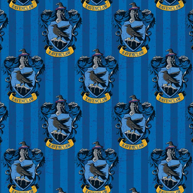 Harry Potter Ravenclaw House Fabric by Camelot