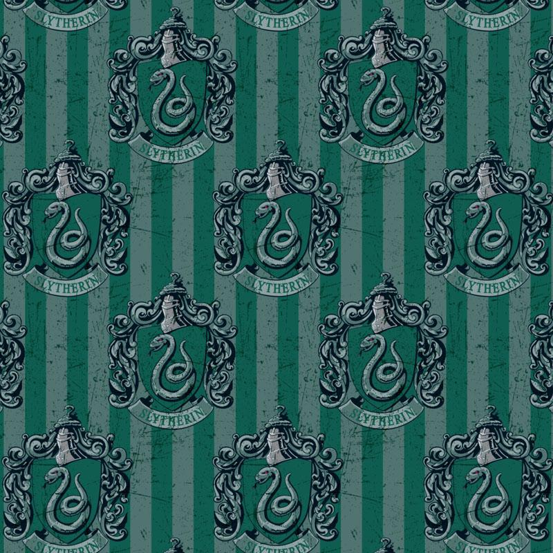 Harry Potter Slytherin House - Premium Digital - Frumble Fabrics