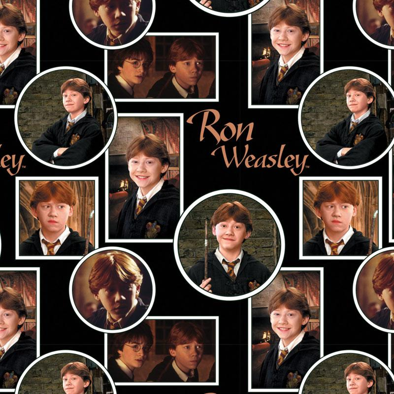 Harry Potter Ron Weasley Fabric by Camelot