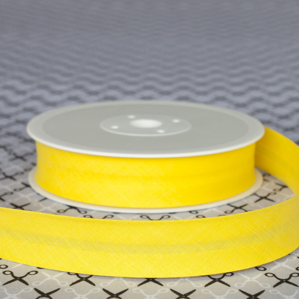 Quality 16mm Plain Bias Binding Tape - Frumble Fabrics