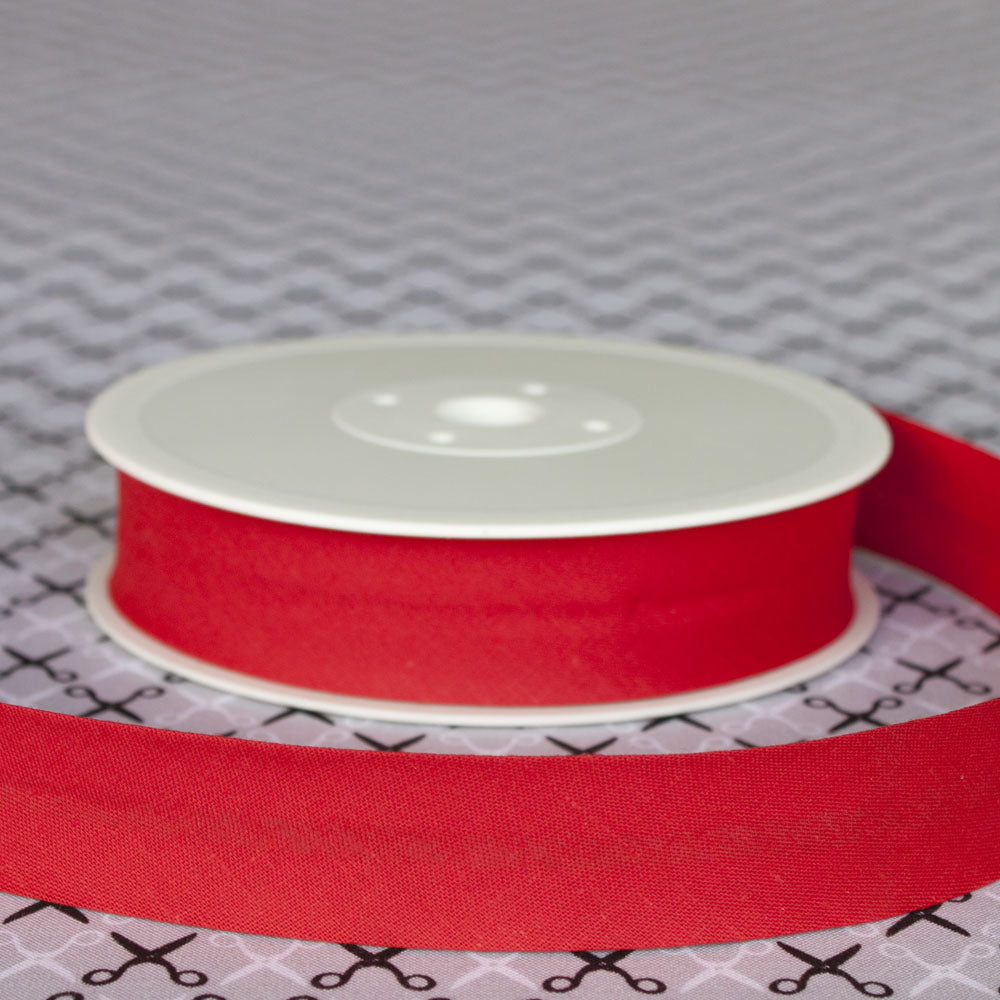 40mm Wide Plain Bias Binding Tape - Frumble Fabrics