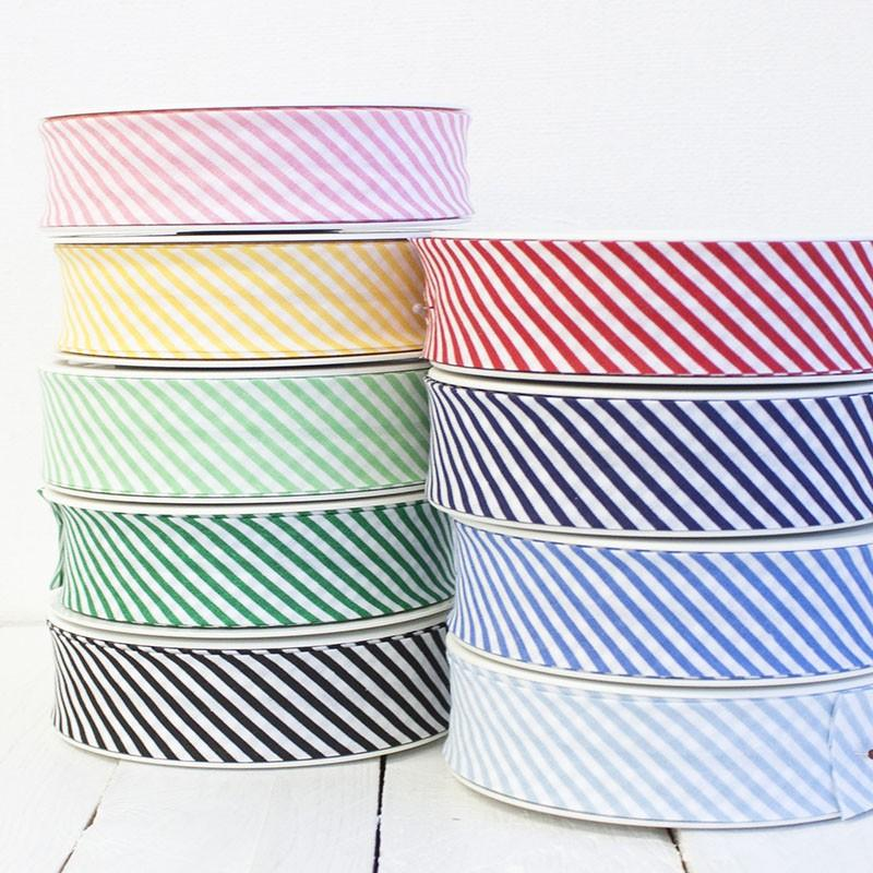 30mm Stripe Bias Binding - Frumble Fabrics