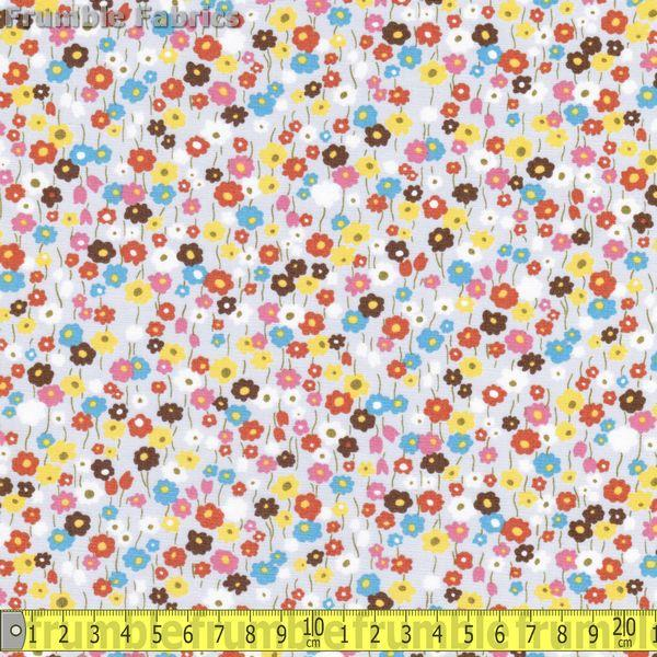 Mini Flowers Multi - Frumble Fabrics