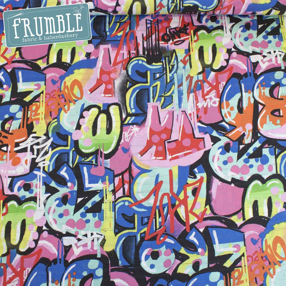 Tag You're It Bright - Frumble Fabrics