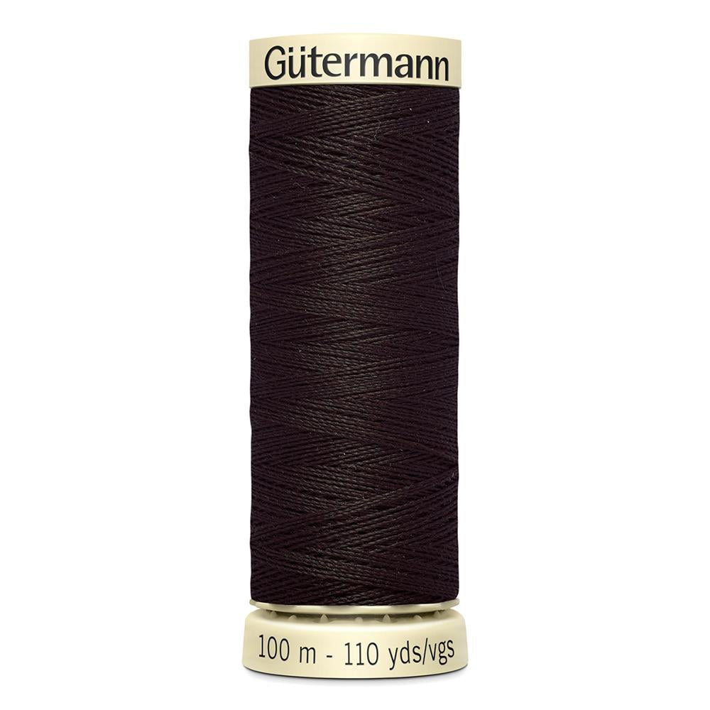 Sew All Thread 100m Reel - Colour 697 Brown - Gutermann Sewing Thread