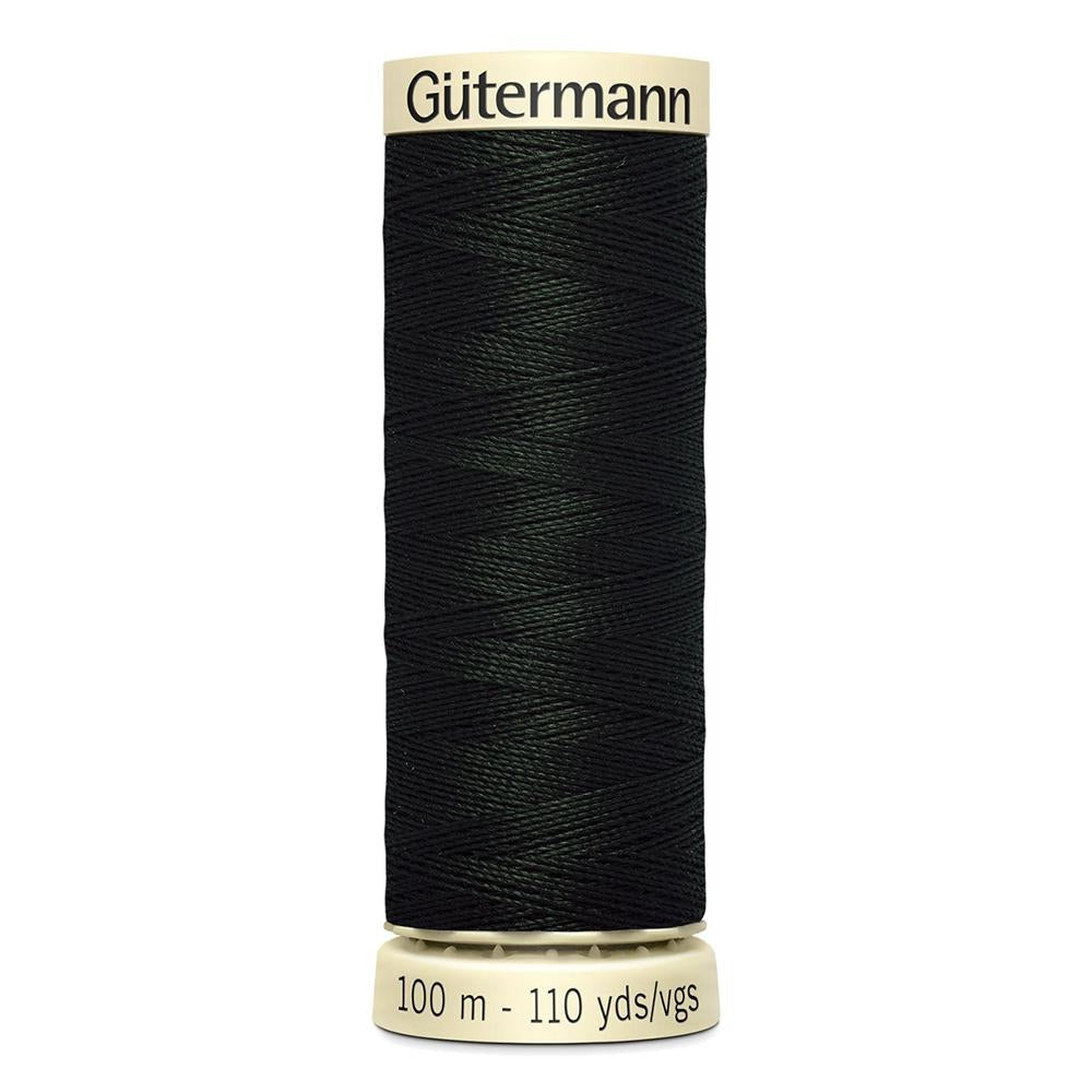 Sew All Thread 100m Reel - Colour 766 Green - Gutermann Sewing Thread
