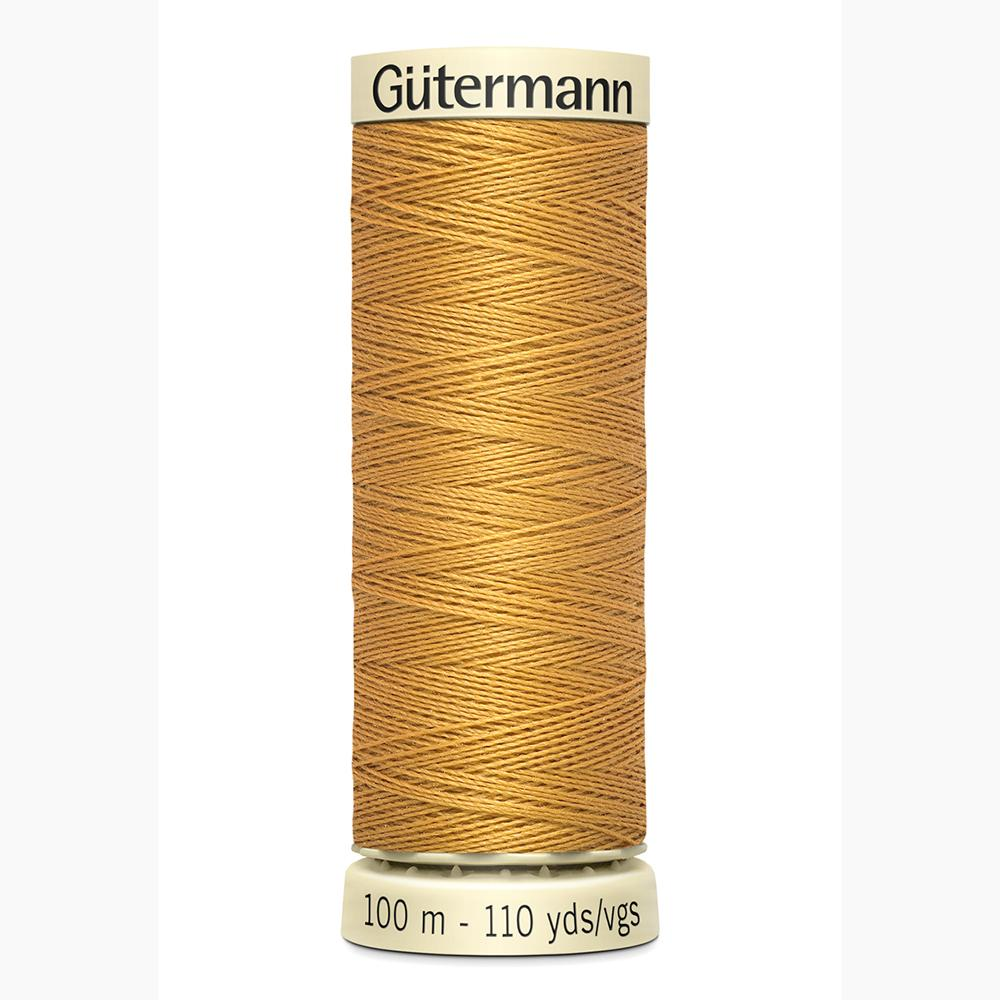 Sew All Thread 100m Reel - Colour 968 Dark Gold - Gutermann Sewing Thread
