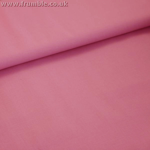 Plain Mid Weight Cotton in Blush Pink - Frumble Fabrics