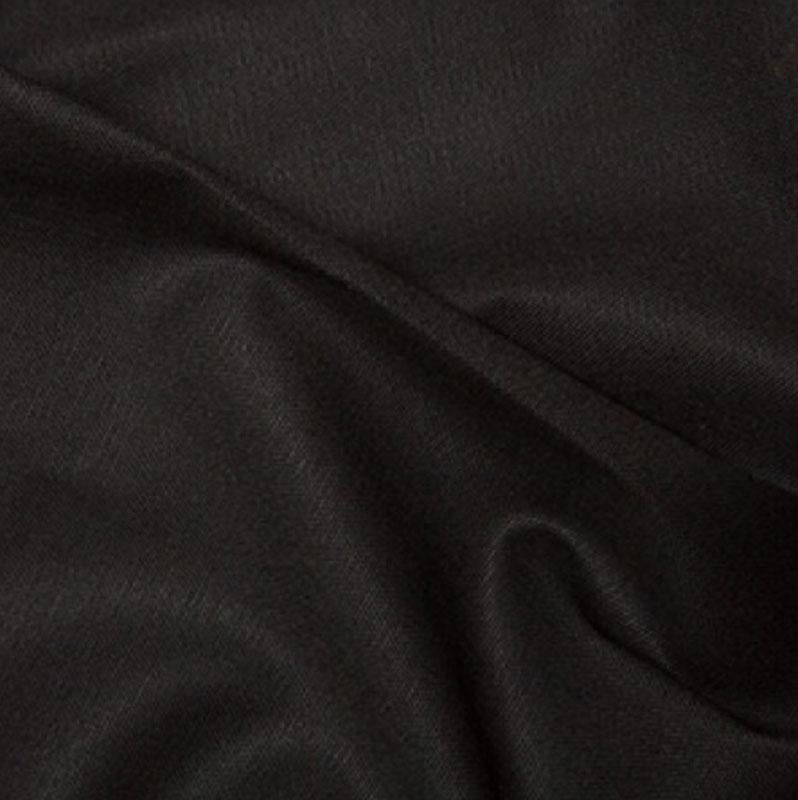10oz Cotton Canvas Solids Black - Frumble Fabrics