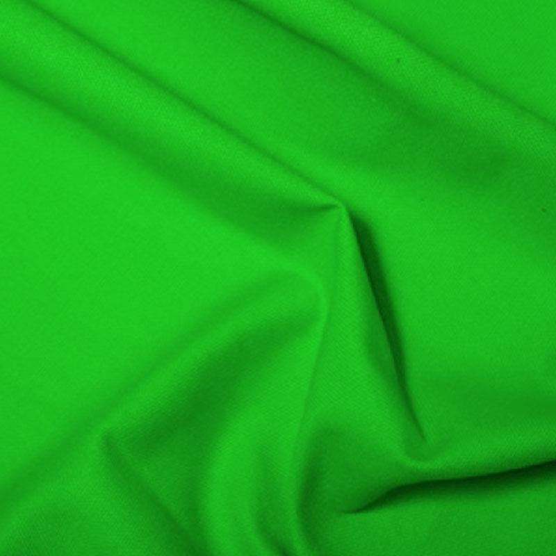 10oz Cotton Canvas Solids Lime - Frumble Fabrics