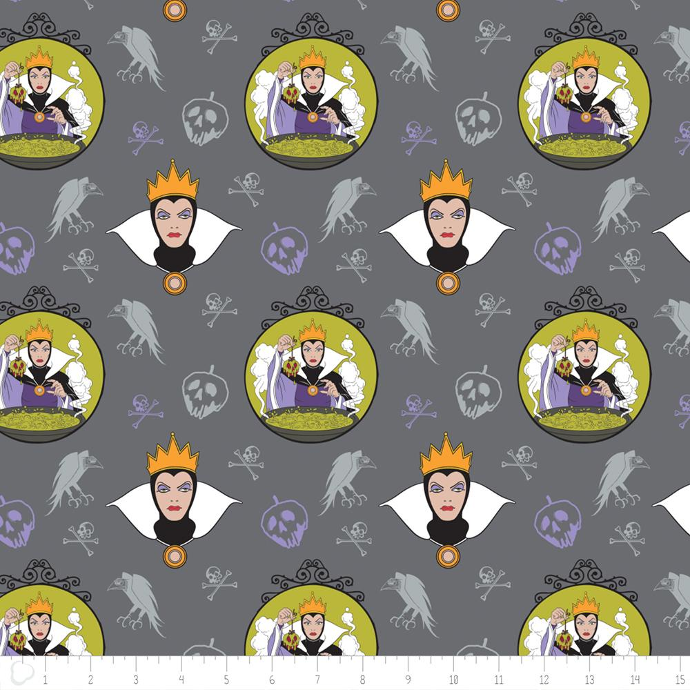 Disney Villains Evil Queen in Iron - Frumble Fabrics