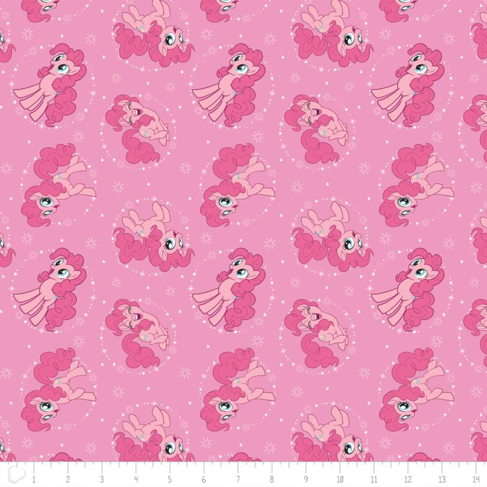 My Little Pony Pinkie Pie In Light Pink Fabric by Camelot