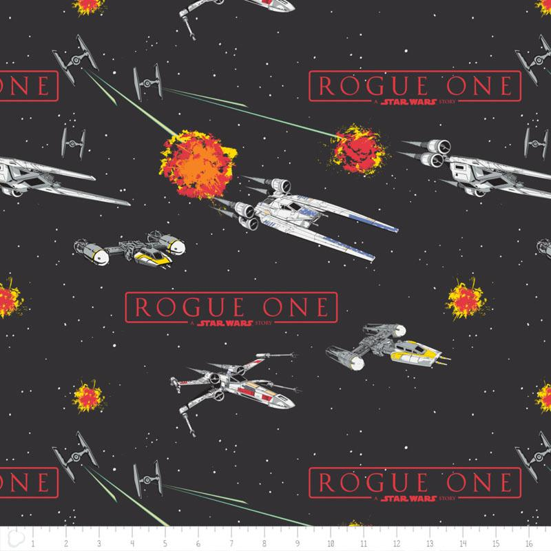 Star Wars Rogue One Ships Fabric by Camelot