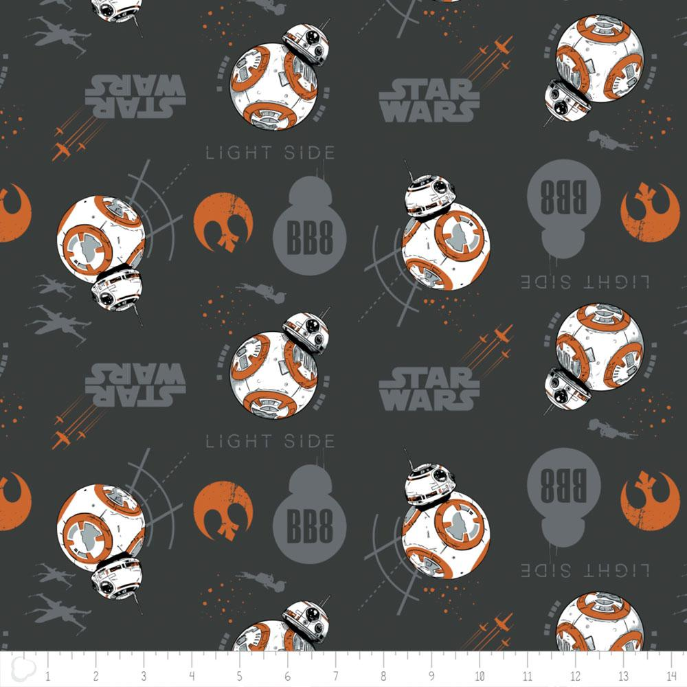 Star Wars The Last Jedi BB8 In Carbon Fabric by Camelot