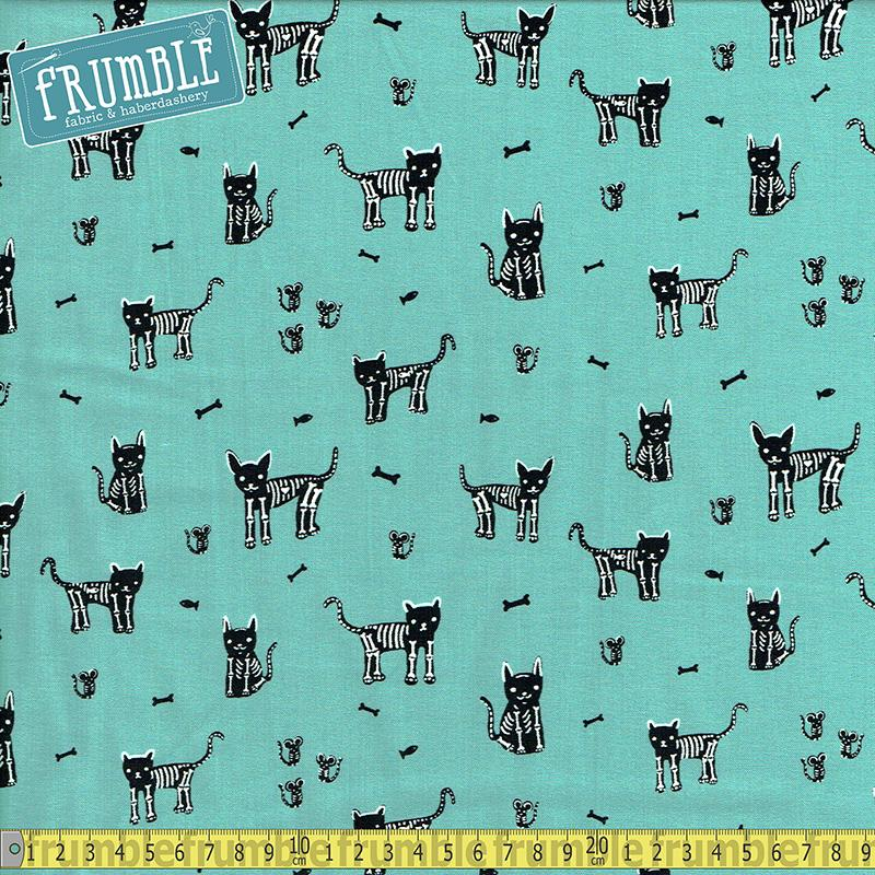 Boo - My Pet Skeleton - Frumble Fabrics