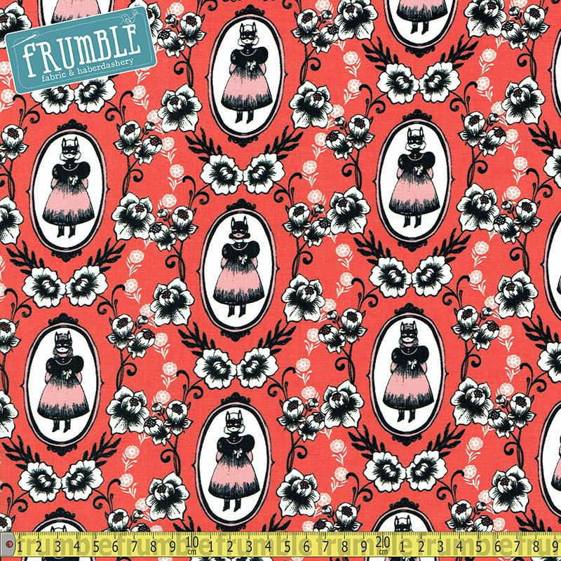 Boo - Ophelia Coral Fabric by Cotton + Steel