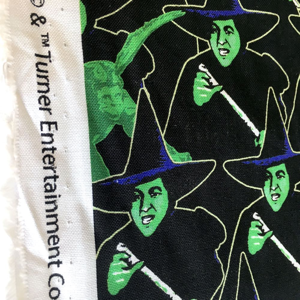 Wizard Of Oz Wicked Witch Black - Frumble Fabrics